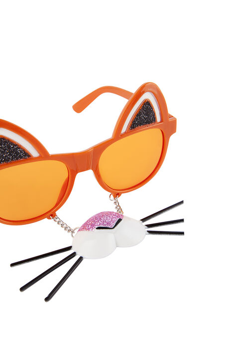 Tiger Kids Dress Up Glasses in colour BRIGHT WHITE