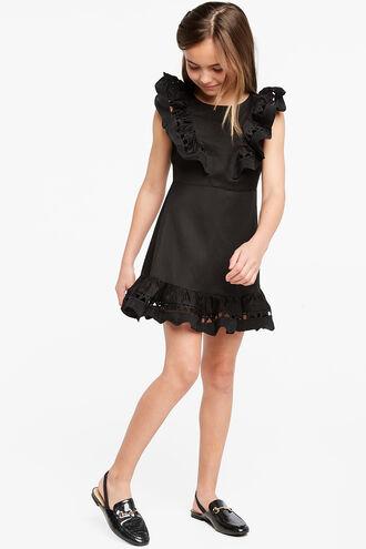 PETRA MINI DRESS in colour JET BLACK