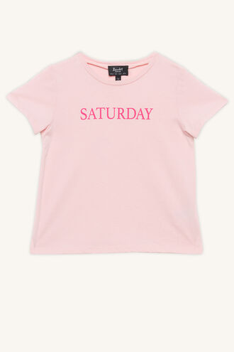 SATURDAY TEE in colour BLUSHING BRIDE
