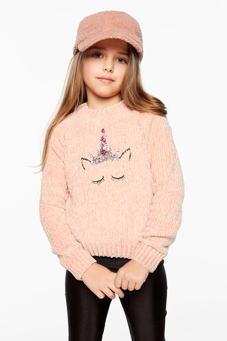 UNICORN SWEATER in colour SHELL