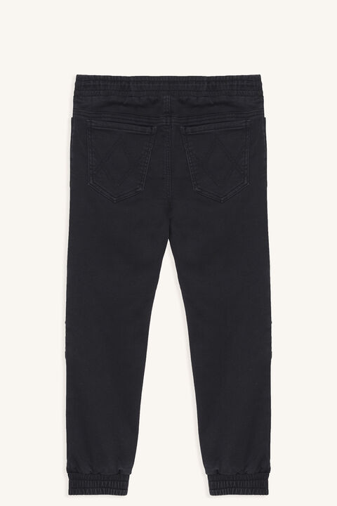 OTIS SLOUCH PANT in colour JET BLACK