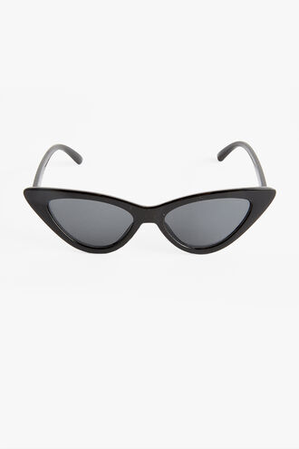 AVA CAT EYE SUNGLASSES in colour CAVIAR