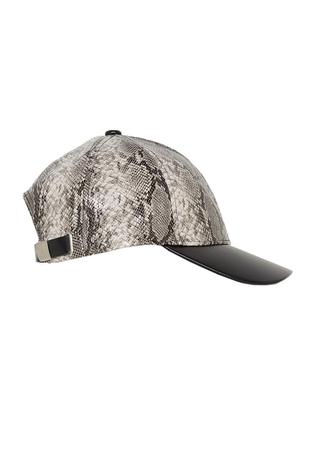 SNAKE PRINT CAP in colour ANTELOPE