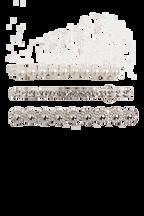 TRIPLE MIX CLIP SET in colour TORTOISE SHELL