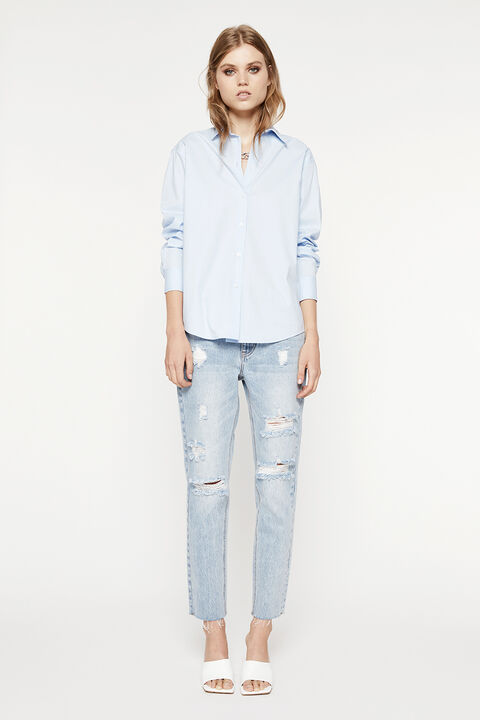 THE CLASSIC SHIRT in colour CERULEAN