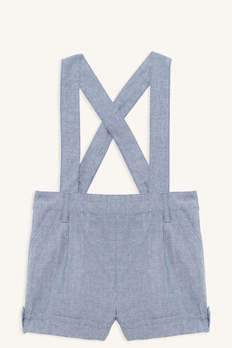 LINEN OVERALL GROW in colour CASHMERE BLUE