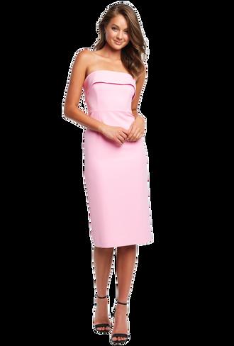 GEORGIA DRESS in colour PINK LADY 84ac2e703ade