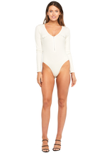 MILITARY BODYSUIT in colour BRIGHT WHITE