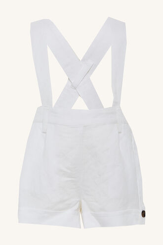 LINEN OVERALL GROW in colour BRIGHT WHITE