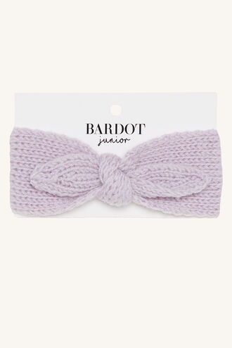BABY KNIT HEADBAND in colour EASTER EGG