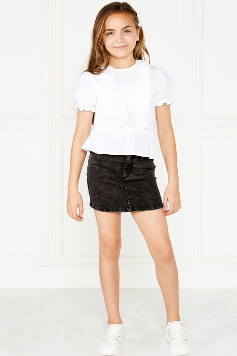 TWEEN GIRL PIA RUFFLE TOP