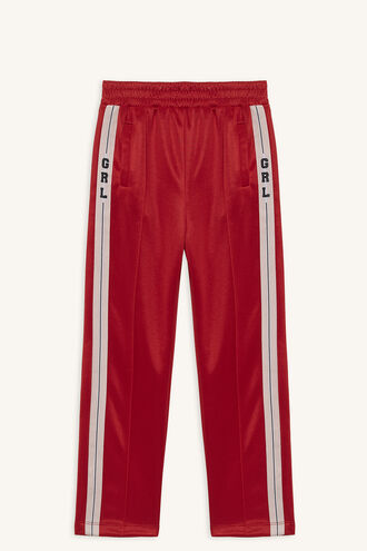 GIRL TRACK PANT in colour LOLLIPOP