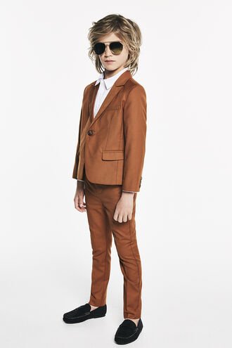 CLASSIC SUIT JACKET in colour CASHEW