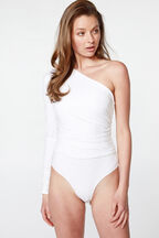 MIA BODYSUIT in colour BRIGHT WHITE