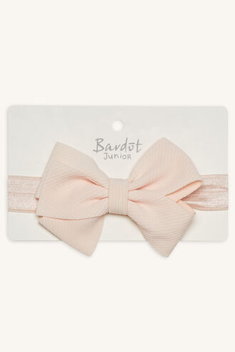 OVERSIZE BOW HEAD WRAP in colour IMPATIENS PINK