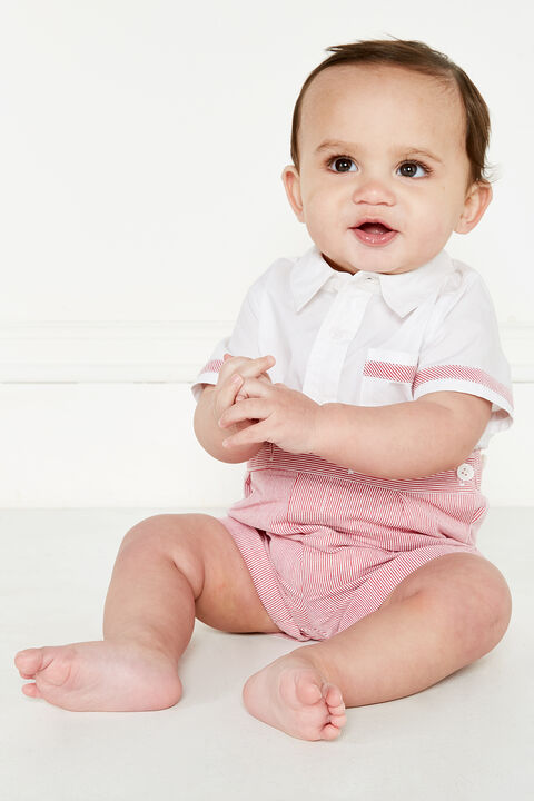 SONNY SHIRT GROW in colour CRANBERRY