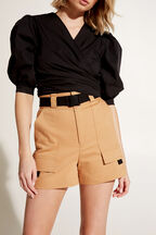 KIMYE CARGO SHORT in colour SANDSTONE