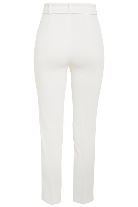 THERESE BUCKLE PANT in colour CLOUD DANCER
