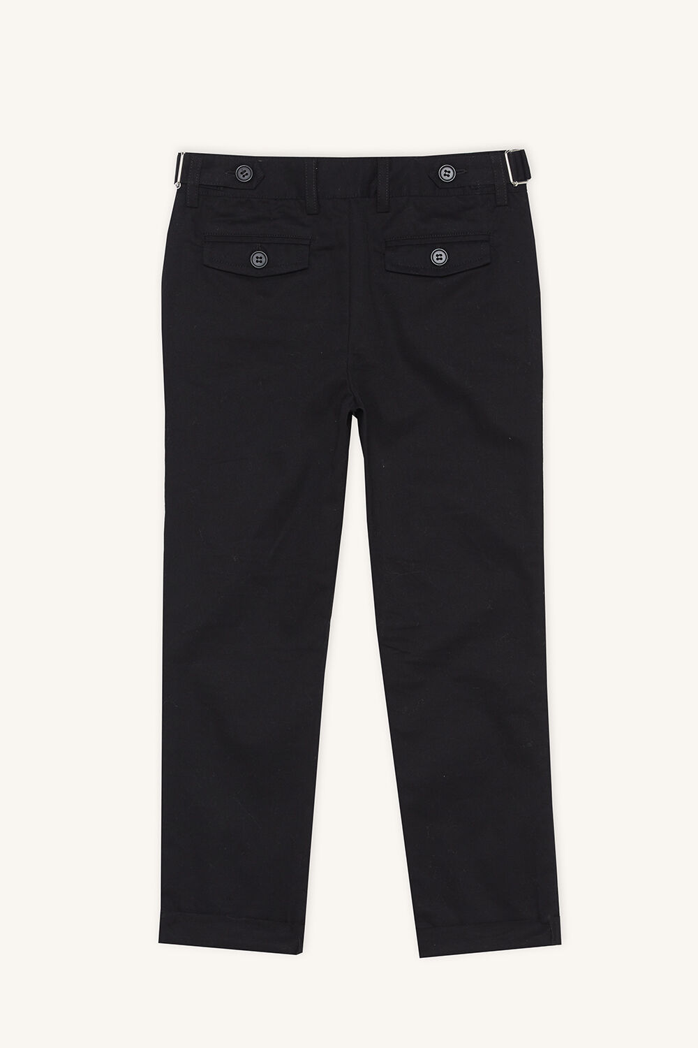 ASHTON BUCKLE CHINO in colour PEWTER