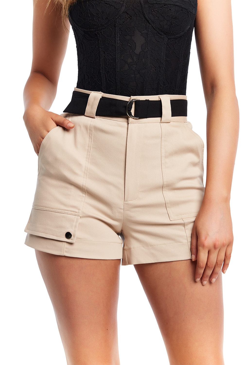 RILEY CARGO SHORT in colour MOONLIGHT