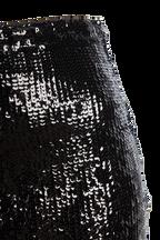 SPARKLE MIDI SKIRT in colour CAVIAR