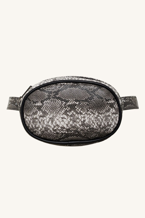 SNAKE BUM BAG in colour BRIGHT WHITE