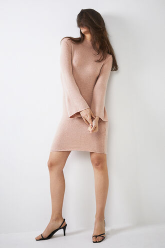 TASH DRESS in colour ROSE CLOUD