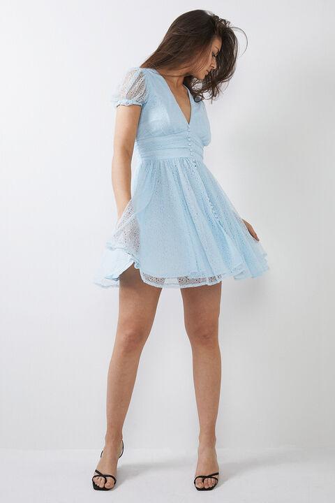 BONNIE DRESS in colour ARCTIC ICE