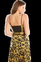 BLACK GOLD BUSTIER in colour BLACK BEAN
