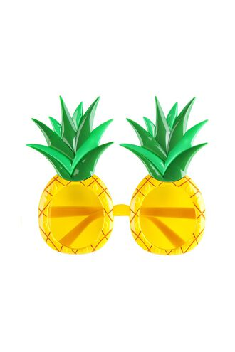 Pineapple Kids Sunnies in colour TRANSPARENT YELLOW
