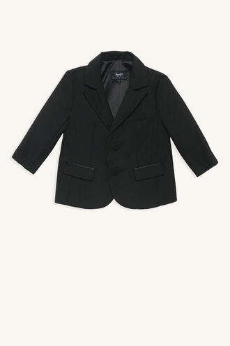 HARRY SUIT JACKET in colour CAVIAR