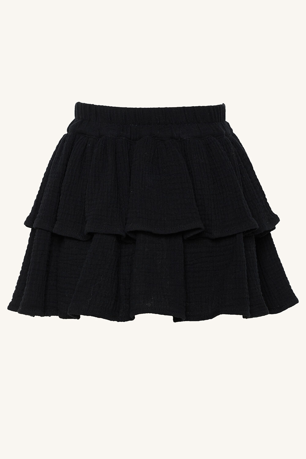 ELENA RARA SKIRT in colour JET BLACK