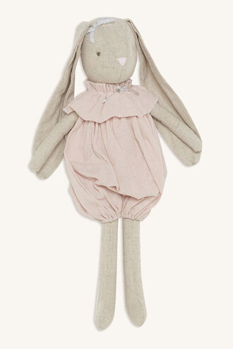 SADIE ROMPER BUNNY in colour IMPATIENS PINK