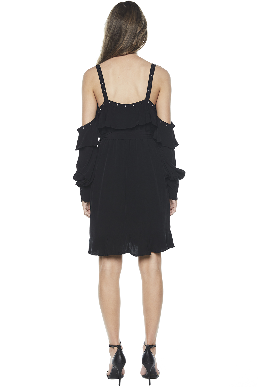 VERONICA DRESS in colour CAVIAR