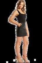 MIMI BODYSUIT in colour CAVIAR