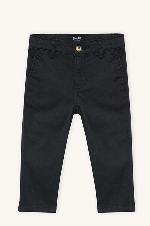 JACK CHINO PANT in colour JET BLACK