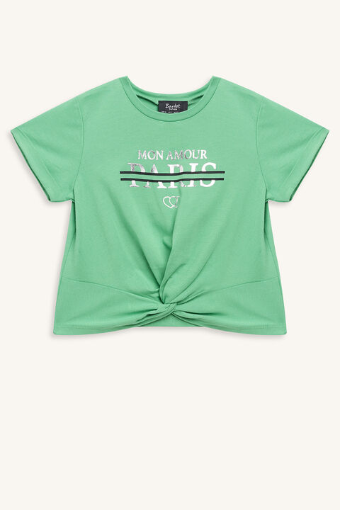 PARIS TEE in colour CLASSIC GREEN