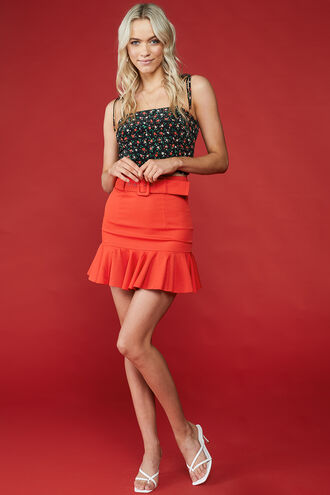 MALIBU SKIRT in colour FIESTA
