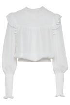 REMI BLOUSE in colour BRIGHT WHITE