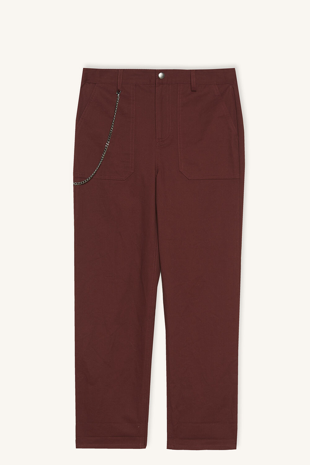 junior boy key chain chino pant in colour PORT ROYALE