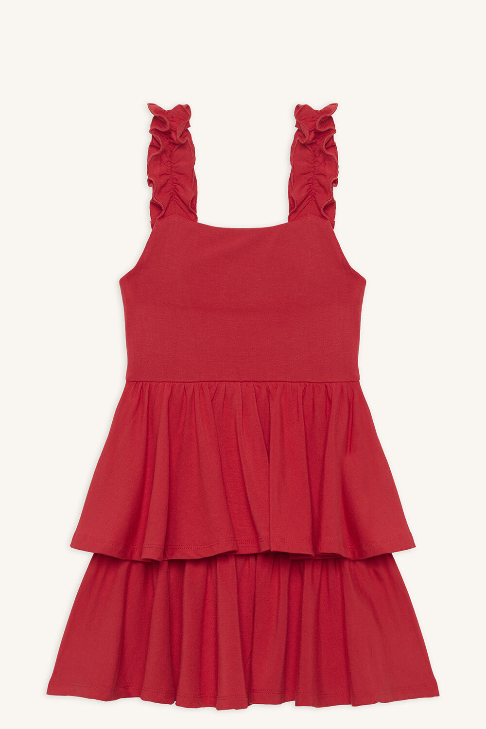 LIYA LAYER DRESS in colour LOLLIPOP