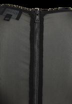 TASHA MESH DRESS in colour CAVIAR