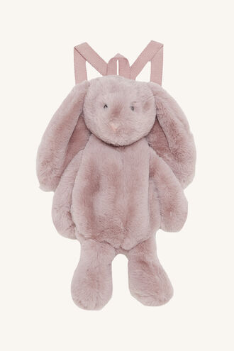 BUNNY BACK PACK in colour PINK CARNATION