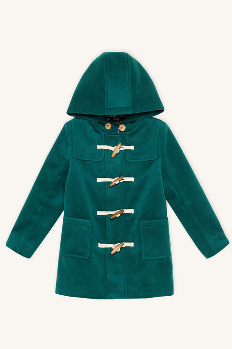 BRADY DUFFLE COAT in colour SYCAMORE