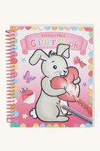 BUNNY GLITTER COLOUR BOOK in colour BRIGHT WHITE