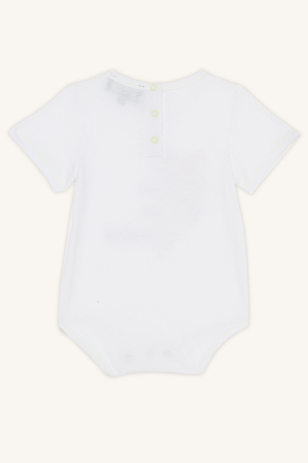 TIGA SHORT SLEEVE GROW in colour BRIGHT WHITE