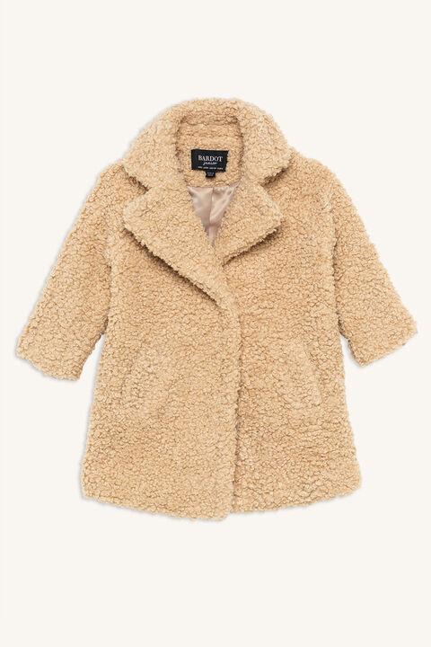 IZZY LONG COAT in colour ANTIQUE WHITE