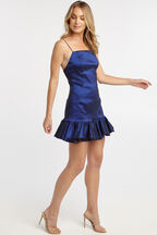 GERI MINI DRESS in colour SURF THE WEB