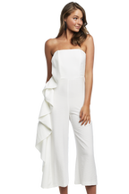 CARISSA JUMPSUIT in colour SNOW WHITE