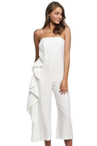 CARISSA JUMPSUIT in colour SNOW WHITE